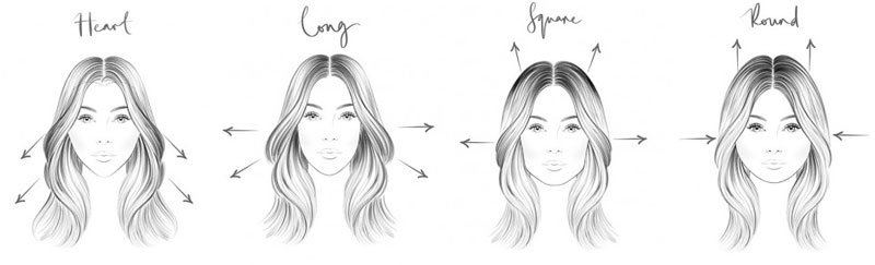 What Hairstyles Suit Your Face Shape Judena Hair